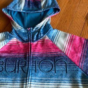 Burton ski fleece jacket